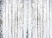 White wood background — Foto de Stock