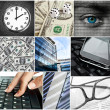 Business collage — Stock Photo #20084369