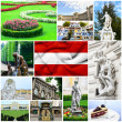 Austria collage - Stock Photo