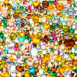 Multicolored crystals background — Stock Photo #20987769