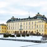 Castle of Drottningholm in Stockholm - Sweden — Stock Photo #22193827