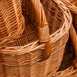 Group of wickery baskets — Stok Fotoğraf #22197463