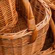 ストック写真: Group of wickery baskets