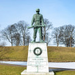 Memorial statue for soldiers in WW2 Copenhagen - Denmark — Stock Photo