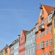 Stock Photo: Nyhavn in Copenhagen Denmark - Famous tourist attraction