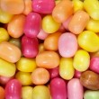Sweet multicolored candies background — Stock Photo