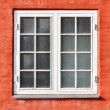 Traditional house window in Copenhagen - Denmark — Stock Photo