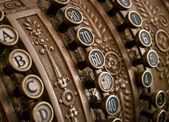 Antike registrierkasse — Stockfoto