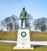 Memorial statue for soldiers in WW2 Copenhagen - Denmark — Stock Photo