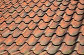 Roof tiles texture — Stock Photo