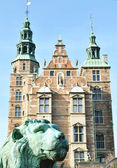 Rosenborg castle in Copenhagen - Denmark — Stock Photo