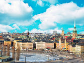 View on Old City in Stockholm - Sweden — Stock Photo