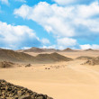 Sand desert and dunes — Stock Photo