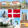 Stock Photo: Denmark collage