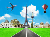 Travel the world conceptual image — Stock Photo