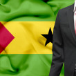 Stock Photo: Businessmfrom Sao Tome and Principe conceptual image