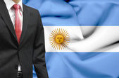 Businessman from Argentina conceptual image — Stock Photo
