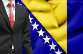 Businessman from Bosnia and Herzegovina conceptual image — Fotografia Stock