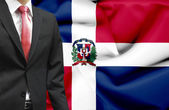 Businessman from Dominican Republic conceptual image — Stock Photo