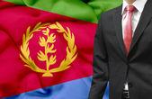 Businessman from Eritrea conceptual image — Stock Photo