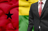 Businessman from Guinea Bissau conceptual image — Stock Photo