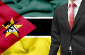 Businessman from Mozambique conceptual image — Stock Photo