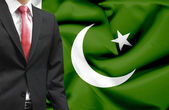 Businessman from Pakistan conceptual image — Stock Photo
