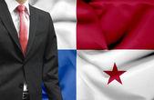 Businessman from Panama conceptual image — Stock Photo