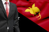 Businessman from Papua New Guinea conceptual image — Stock Photo