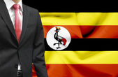 Businessman from Uganda conceptual image — Stock Photo
