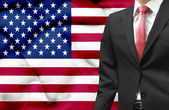 Businessman from United States of America conceptual image — Stock Photo