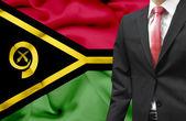 Businessman from Vanuatu conceptual image — Stock Photo