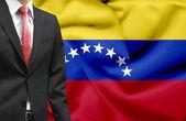 Businessman from Venezuela conceptual image — Stock Photo