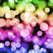 Multicolored bokeh background — Stock Photo