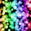 Royalty-Free Stock Photo: Multicolored bokeh background