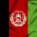 Afghanistan waving flag — Stock Photo #24447285