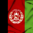 Afghanistwaving flag — Stock Photo #24447285
