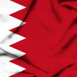 Foto Stock: Bahrain waving flag