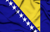 Bosnia and Herzegovina waving flag — Stock Photo