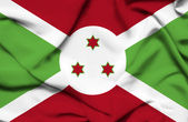 ブルンジの旗 — ストック写真