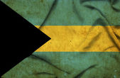 Bahamas waving flag — Stock Photo