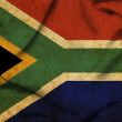 South Africa waving flag — Stock Photo
