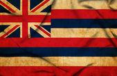 Bandera ondeando hawaii — Foto de Stock