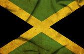Jamaica waving flag — Stock Photo