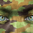 Soldier portrait close up — Stock Photo #25110887