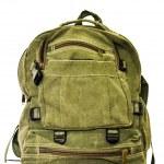 Backpack isolated on white — Stock Photo #26498951