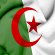 Algeria waving flag — Stock Photo