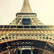 Foto Stock: Eiffel tower vintage image