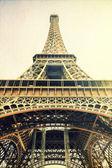 Eiffel tower vintage image — Stock Photo