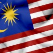 Malaysiwaving flag — Stock Photo #26500827